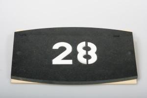 Hausnummer Naturstein