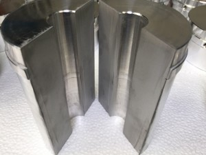Aluminium t=130mm